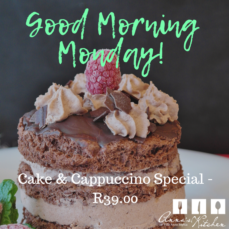Anna's Kitchen-Monday Cake Special